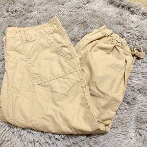 sz 0 original crop khaki pants